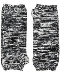 San Diego Hat Company - Kng3541 Fingerless Marl Longer Gloves (blue) Dress Gloves - Lyst
