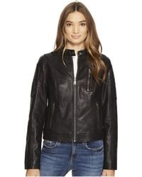 Levi's - Levi's(r) Motorcross Racer (dark Brown) Women's Coat - Lyst