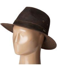 Stetson - Weathered Leather Safari - Lyst