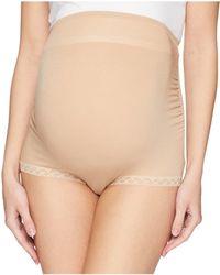 Natori - Bliss Maternity Full Panel Boyshorts (cafe) Women's Underwear - Lyst