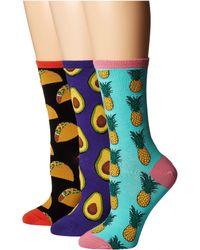 Socksmith - Foodies (multi) Women's Crew Cut Socks Shoes - Lyst