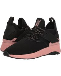 Palladium - Ax Eon Lace Knitted (black/black/rose Tan) Women's Shoes - Lyst