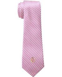 Lauren by Ralph Lauren - Silk Seersucker Tie - Lyst