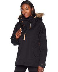 Fjallraven - Iceland Anorak (black) Women's Coat - Lyst