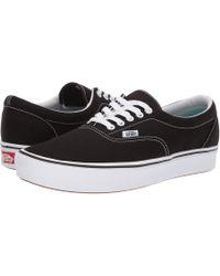 c5fc27dadda Vans - Comfycush Era ((classic) Black true White) Athletic Shoes -