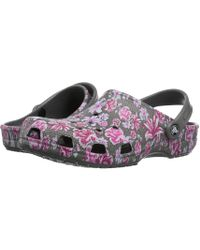 3d80dbf63c6 Crocs™ - Classic Graphic Ii Clog (multi Floral slate Grey) Clog Shoes