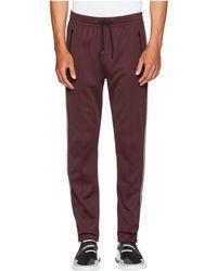 Belstaff - Cambrose Technical Poly Cotton Interlock Track Pants (black) Men's Casual Pants - Lyst