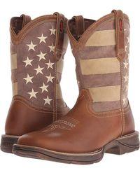 Durango - Rebel 12 Faded Glory (tan/distressed Flag) Men's Boots - Lyst