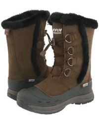 Baffin - Chloe (dark Chocolate) Women's Cold Weather Boots - Lyst