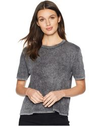 Splendid - Outpost Mineral Wash Tee (black) Women's T Shirt - Lyst