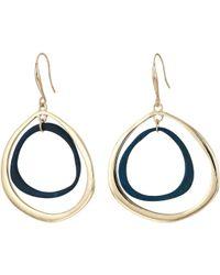 Robert Lee Morris - Patina Gold Orbital Earrings (patina) Earring - Lyst
