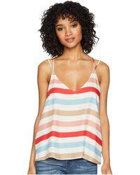 "Jack BB Dakota - Miranda ""beach Ball Stripe"" Printed Top - Lyst"