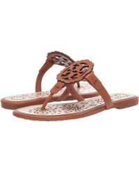 49112fc400a Tory Burch - Miller Scallop Sandal (sea Shell Pink tramonto) Women s Sandals  -