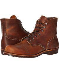 Red Wing - 6 Iron Ranger Lug (copper Rough Tough) Men's Lace-up Boots - Lyst