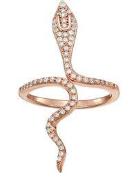 Shashi - Snake Wrap Ring - Lyst
