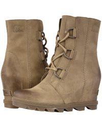 Sorel - Joan Of Arctictm Wedge Ii (camel Brown) Women's Waterproof Boots - Lyst