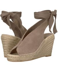 Seychelles - Interrelated (taupe Suede) Women's Wedge Shoes - Lyst