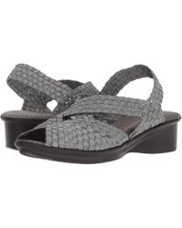 Bernie Mev - Kira (pewter) Women's Sandals - Lyst