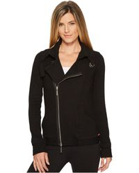 Hard Tail - Split Collar Motocross Jacket (black) Women's Coat - Lyst