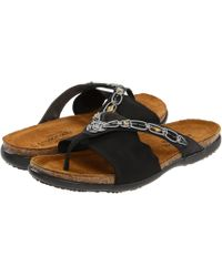 b75213b938ca Naot - Jennifer (polar Sea Leather navy Stretch) Women s Sandals - Lyst