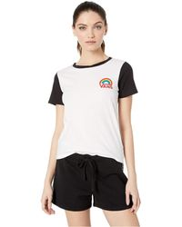 bec6641cad Vans - Make It Rainbow (white black) Women s Clothing - Lyst
