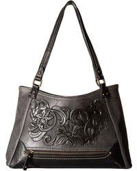 b.ø.c. - Botanica Flower Amhearst Tote (charcoal/black) Tote Handbags - Lyst
