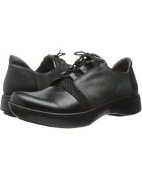 Naot - Riviera (black Madras/black Crackle/tin Gray Leather/black Raven Leather) Women's Shoes - Lyst