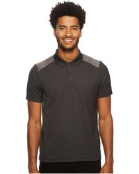 Perry Ellis - Color Block Jacquard Polo (bright White) Men's Clothing - Lyst
