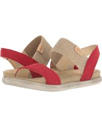 Ecco - Damara Ankle Sandal (chili Red/powder) Women's Sandals - Lyst