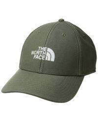 ec34dbf31 Lyst - The North Face Logo Gore Hat (urban Navy/shady Blue) Caps in ...