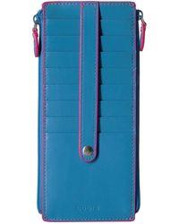 Lodis - Audrey Rfid Double Zip Card Case - Lyst
