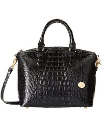 Brahmin - Melbourne Duxbury Satchel (blossom) Satchel Handbags - Lyst