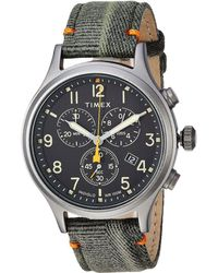 Timex - Allied Chrono Canvas (olive/black) Watches - Lyst