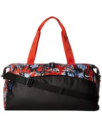 5473e4dfee Nike - Radiate Training Printed Club Bag (topaz Mist black white) Duffel