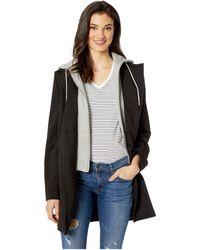 Sam Edelman - 3/4 Ponte W/ Sweatshirt Detail (black) Women's Clothing - Lyst