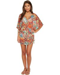 Luli Fama - La Bella De Cuba Cabana V-neck Dress - Lyst