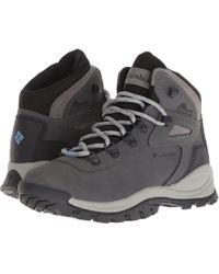 Columbia - Newton Ridge Plus (cordovan/crown Jewel) Women's Hiking Boots - Lyst