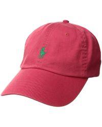 228d0d7dd77 Polo Ralph Lauren - Classic Sport Cotton Chino Hat (baby Blue) Caps - Lyst