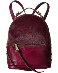 4114b0abb4 Lyst - Hobo Supersoft Blaze Leather Backpack in Red