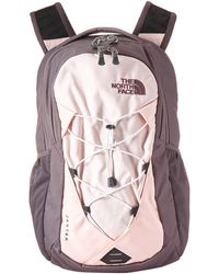 8626ee3f6 The North Face Jester Backpack Mid Grey Dark HeatherFiery Red