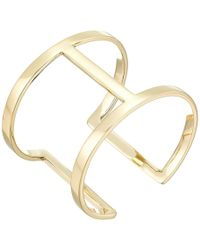 Vince Camuto - Sculptural Open Cuff Bracelet - Lyst