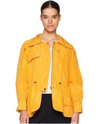 Jil Sander Navy - Long Sleeve Faile Blouson (orange) Women's Clothing - Lyst