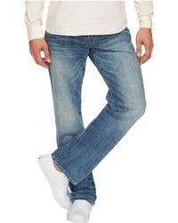 Lucky Brand - 181 Relaxed Straight In Bluff Lake (bluff Lake) Men's Jeans - Lyst