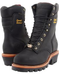 Chippewa - 9 Waterproof Insulated Super Logger (black Oiled) Men's Work Boots - Lyst