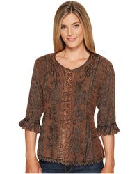 "Scully | Honey Creek ""cherie"" Blouse 