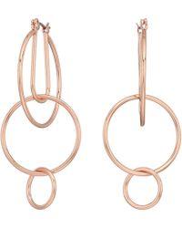 Rebecca Minkoff - Celestial Hoop Earrings - Lyst