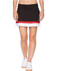 Fila - Heritage Tennis Skort (black/white/crimson) Women's Skort - Lyst