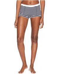 Maison Du Soir - Peony Boyshorts (navy Stripe) Women's Pajama - Lyst