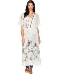Double D Ranchwear - Stories Of The Buffalo Robe Kimono (string) Women's Clothing - Lyst