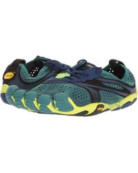 Vibram Fivefingers - V-run (north Sea/navy) Men's Shoes - Lyst